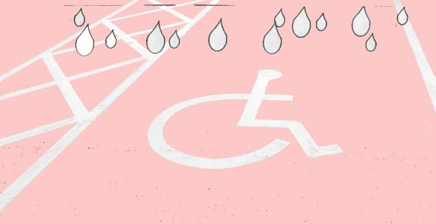 Bye-Bye Disabled Parking Space / The Story of a Break-up