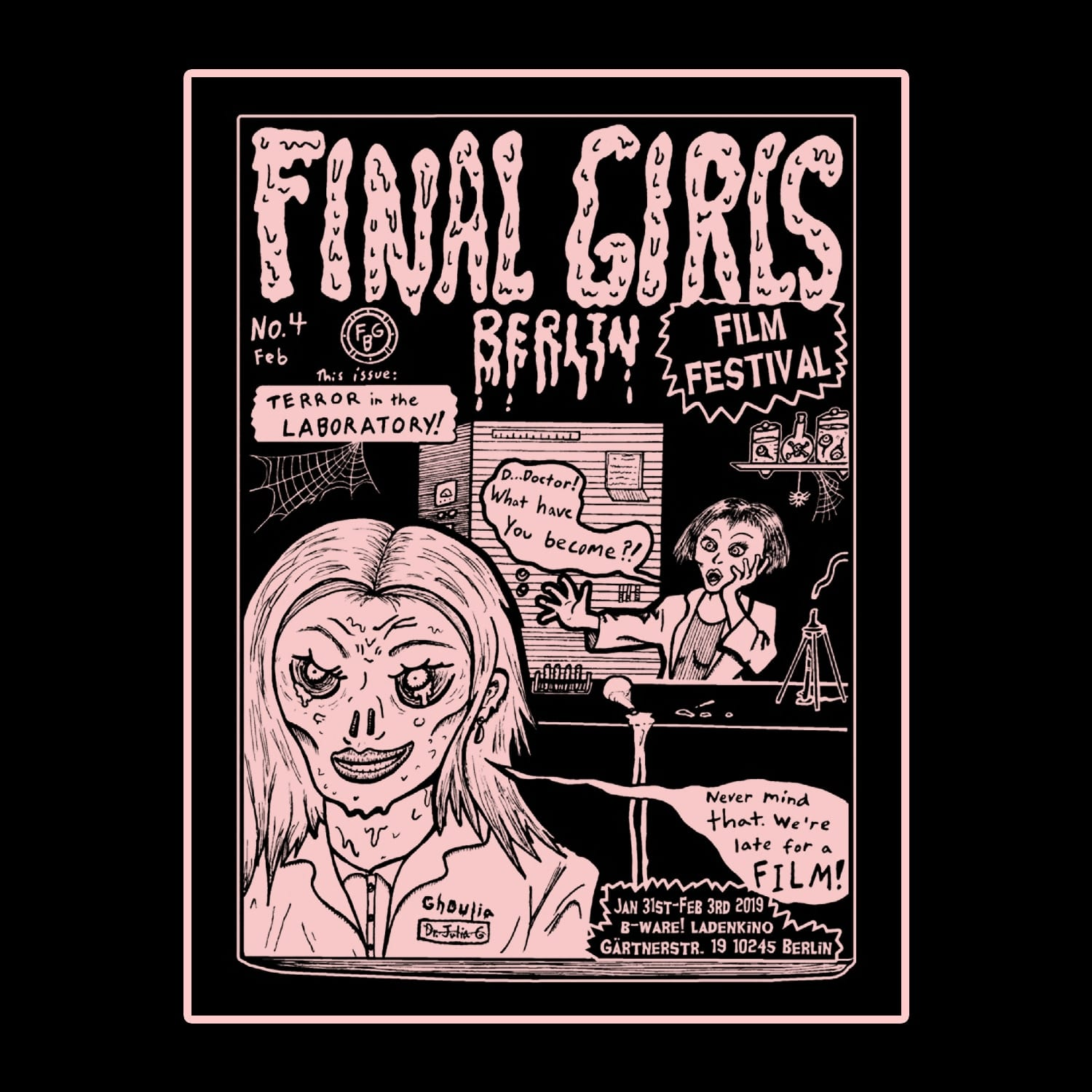 Logged In and Freaked Out at Final Girls Film Festival
