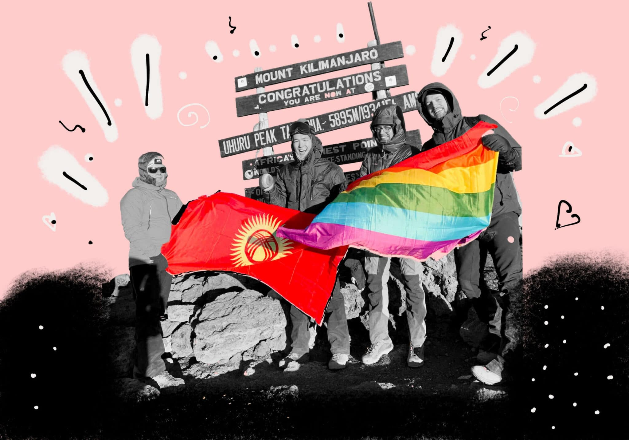 Scaling Mountains To Battle Homophobia